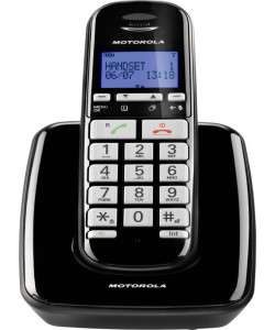 MOTOROLA S3001B DECT Ασυρματα Τηλεφωνα Black