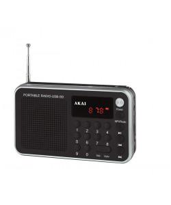 AKAI DR002A-521 Ραδιόφωνα Black