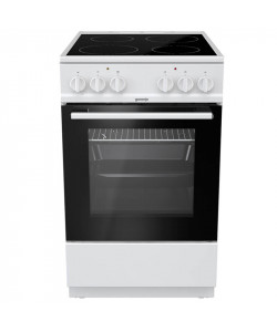 GORENJE EC5111WG (034022501) 50cm Ηλεκτρικές κουζίνες White